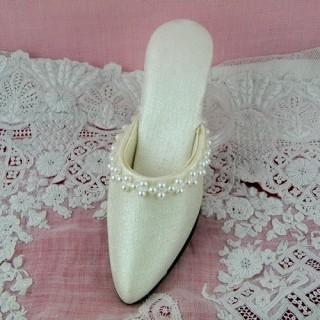 Zapatos miniatura decoración 12 cm