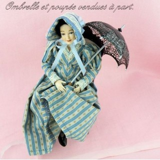 Miniatur-Puppe 1/12 1900 Heidi ott