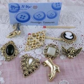 Buttons Dress it up nostalgic treasure