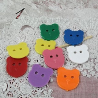 Boutons ours grandes tailles petit prix