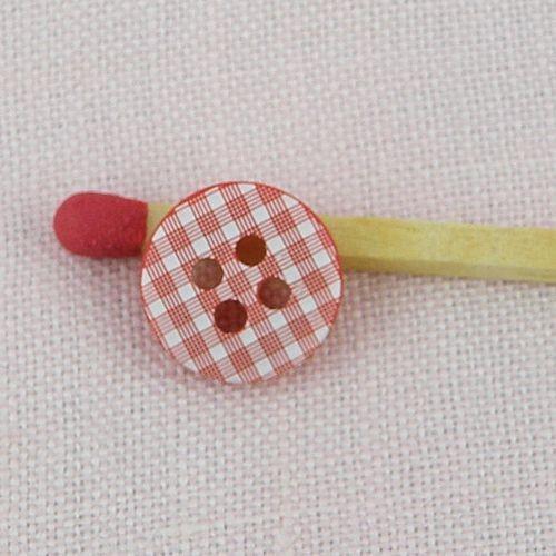 20 pièces Boutons 11mm plastique 1,1cm diamètre