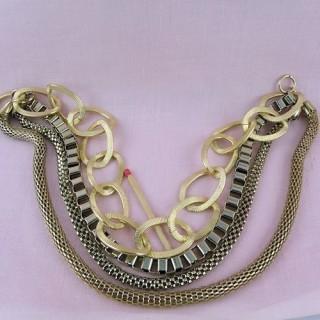Halskette 4 Reihen ausgefallene Kette Schmuck Herstellung