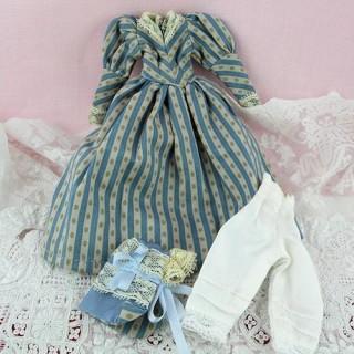 Kleid 1900 Puppe 1/12 Miniaturgewänder Puppe Haus 1/12ème