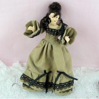Poupée miniature 1900 1/12eme Heidi Ott