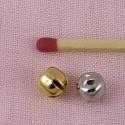 Mini Grelot minuscule clochette poupée 6 mm.