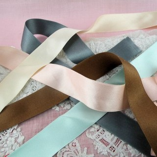 Silk Ribbon 25mm, 2,5cm, all colors