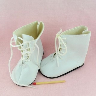 Miniature boot shoes doll  7 cms