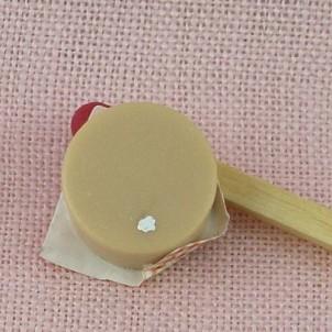 Camembert miniature maison poupée
