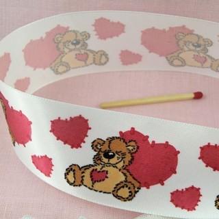 Baby bear ribbon 37 mms