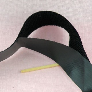 Thin Velcro ribbon tape Barbie doll 24 mms