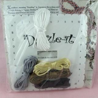 Needle craft supplies, floss winder