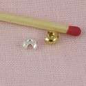 Cache-sertissures perles à écraser 4 mm.