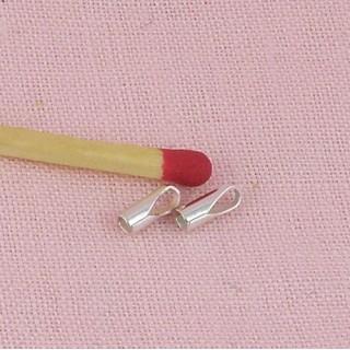 Metal plaqued crimp covers 4 mms