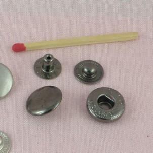 Metallic Snaps fastener 14 mms