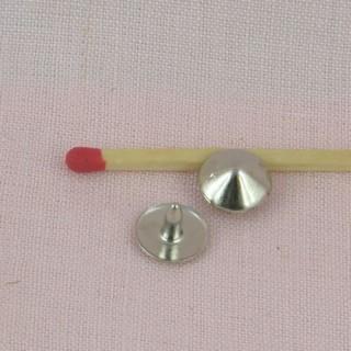 metallic Snaps fastener 12 mms