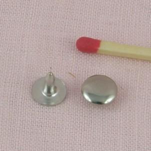 Metal cone rivet decoration