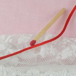 Bobine Cordon fil queue de rat 1,5 mm.