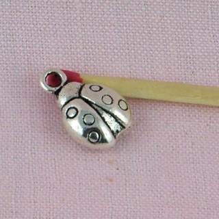Ladybird bracelet charms, Pendant animal 12 mms
