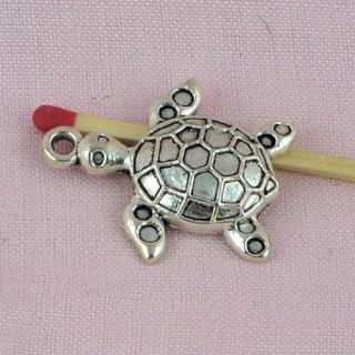 Tortoise bracelet charms, Pendant animal 28 mms