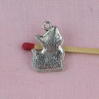 Cat bracelet charms, Pendant animal Cat 2 cms