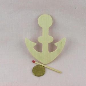 Wooden row pirate ship anchor 8 cms