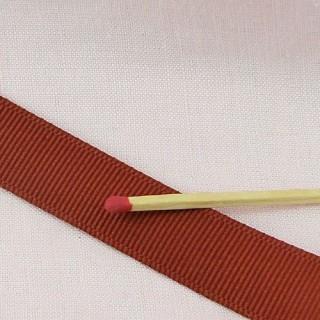Hearts printed satin grosgrain ribbon 16 mm