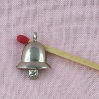 Liberty bell, bracelet charm paste for jewelry making 20 mm