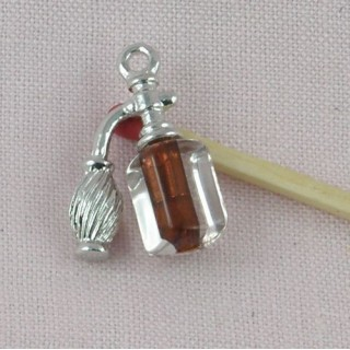 Spray miniature, bracelet charm metal 2,2 cms, 23 mm.