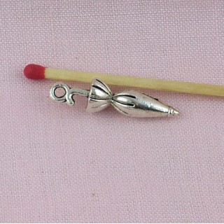 Umbrella pendant Umbrella doll Miniature, Bracelet charm Umbrella