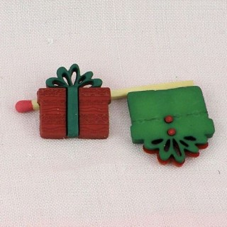 Button Chritmas gift pack