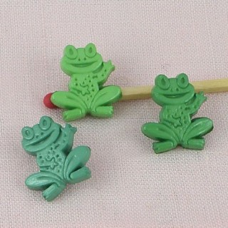 Aquatic animals, pond: fancy frog 15 mms.