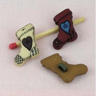 Button, Chritmas sock