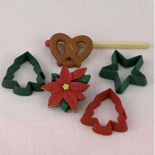 Christmas ginger cookies buttons embellishments