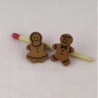 Tiny Buttons Chritmas cookies ginger bred