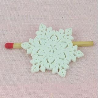 Button, Chritmas Poinsettia flower