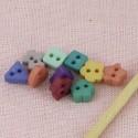 Minis Boutons mélange formes