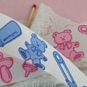 Baby bear unwired ribbon 34 mms