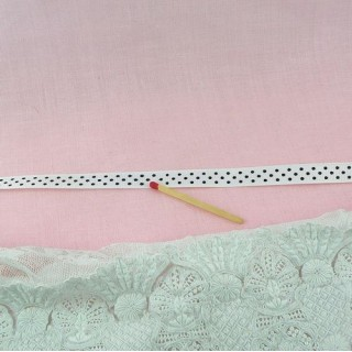Grosgrain dots ribbon 1 cm