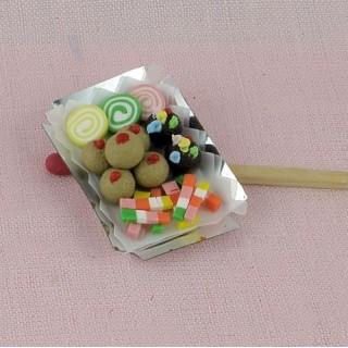 Petits fours gateaux miniatures cuisine maison poupée