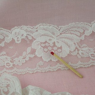 Extra large vintage lace insert 11 cms