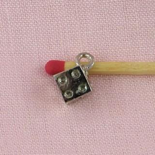 bracelet charm cube jewel doll,