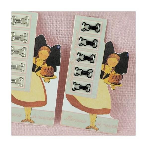 Carte rétro agrafes à coudre 7 mm