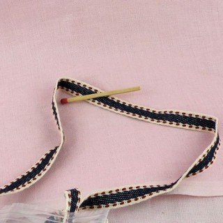Ruban, galon, ganse, grosgrain, multicolore 10 mm, 1 cm.