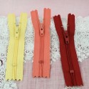 Tiny zipper for Barbie doll 95 mm