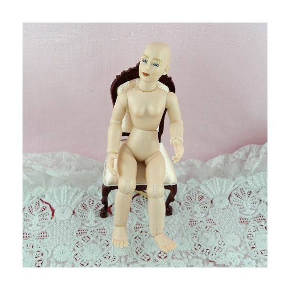 Miniature character doll 1/12,