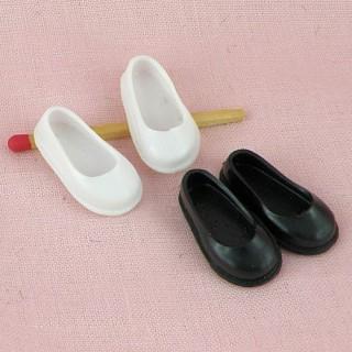 Paire chaussures enfant caoutchouc miniature maison poupée