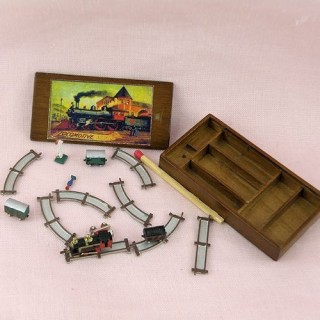 Juguete miniatura tren de juguete Heidi Ott