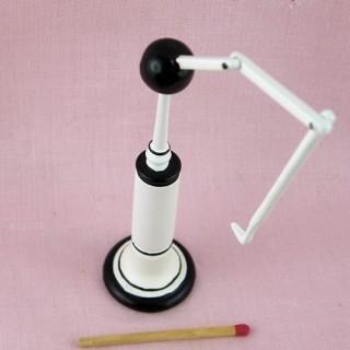 Dentiste roulette miniature maison poupée.