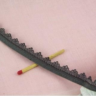 Elastique brodé bretelle soutien gorge