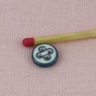 Two-colored Button bulging 10 mms